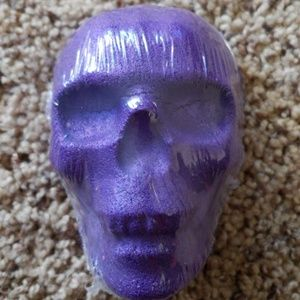 Jewelry - Purple skull bath bomb with size 7 ring